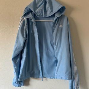 Baby Blue Adidas Jacket